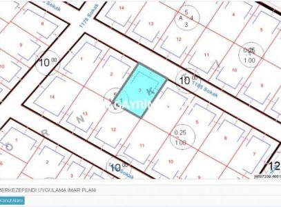 KARAHASANLI'da B+4 KAT İMARLI 630m2, 8- dairelik SATILIK ARSA